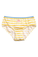7-pack briefs - Yellow/Striped - Kids | H&M 3